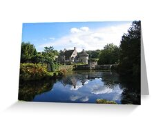 Scotney Castle autumn Greeting Card