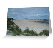 Port Marsh Strand Greeting Card