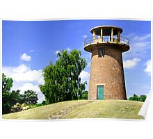 Tower Windmill at Staunton Harold Reservoir Poster