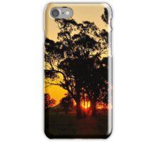 Gunnedah Sunset iPhone Case/Skin