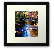 Caledonia in Autumn Framed Print