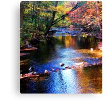 Caledonia in Autumn Canvas Print