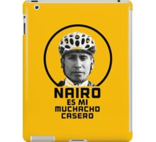 Nairo es mi muchacho casero / Nairo is My Homeboy (Spanish) : TDF Yellow iPad Case/Skin