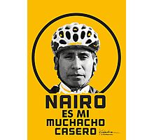 Nairo es mi muchacho casero / Nairo is My Homeboy (Spanish) : TDF Yellow Photographic Print