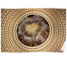 Capitol ceiling  Poster