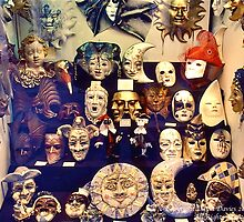 Carnival Masks by David Davies