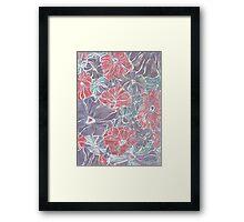 Dazed Floral Framed Print