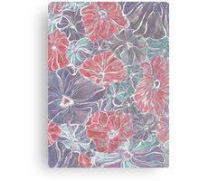 Dazed Floral Canvas Print