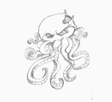 zombie octopus Kids Clothes