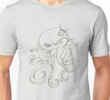 zombie octopus Unisex T-Shirt