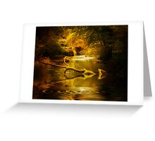 Mystery in a Forest Greeting Card