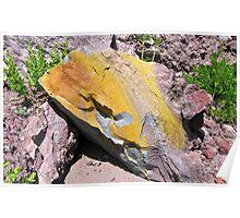 'Yellow Rock', CA Poster