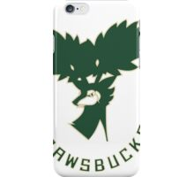 NEW Milwaukee Sawsbucks Logo iPhone Case/Skin