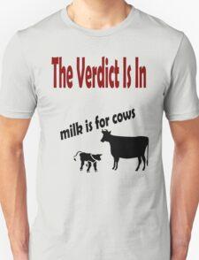 The Verdict on Milk Unisex T-Shirt