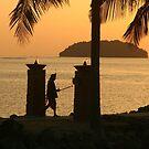 Kota Kinabalu - paradise sunset by Stuart Morris