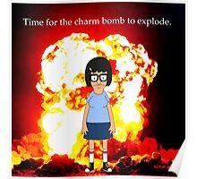 Tina Belcher Charm Bomb Poster