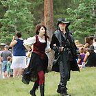 Denver Renaissance Fair Couple by TitusXavier