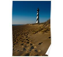 Sunrise At Cape Hatteras Lighthouse Poster