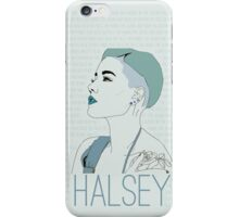 Blue Halsey iPhone Case/Skin