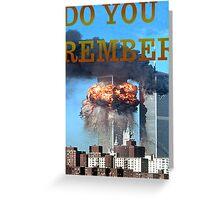 9/11 memorial #2 Greeting Card