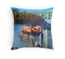 9/11 memorial #2 Throw Pillow