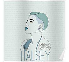 Blue Halsey Poster