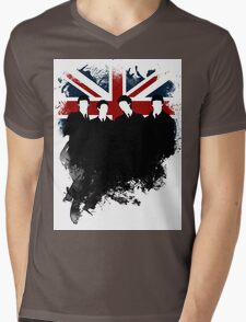 United Kingdom  Mens V-Neck T-Shirt
