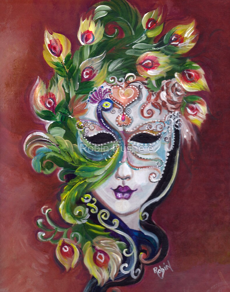 Mardi Gra La la by Robin Pushe'e