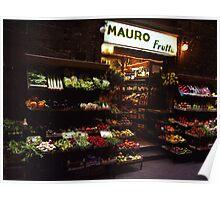 Mauro Frutta - Florence Poster