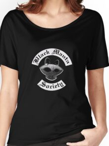 Black Manta Society Women's Relaxed Fit T-Shirt