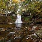 Sullivan Falls (Autumn) by Tim Devine