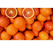 Blood Orange Photographic Print
