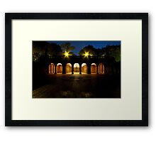Bethesda Terrace Arcade, Central Park, New York Framed Print