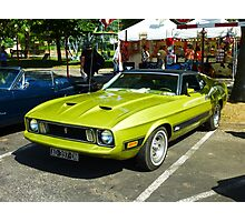 Ford Mustang Seventies Photographic Print