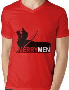 Merry Men Mens V-Neck T-Shirt
