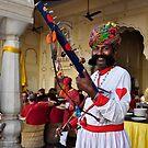 Indian Musician by Brendan Buckley