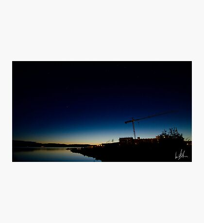 Small Town Sunset Photographic Print