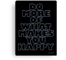 DO MORE Canvas Print