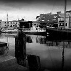 Boat Docks In Germany by Rosestone
