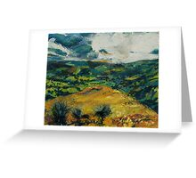 Between Offas Dyke Path and Panorama Walk Greeting Card