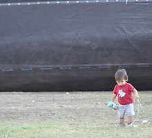 Child at play by Sboydston
