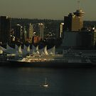 Vancouver Harbour by satsumagirl