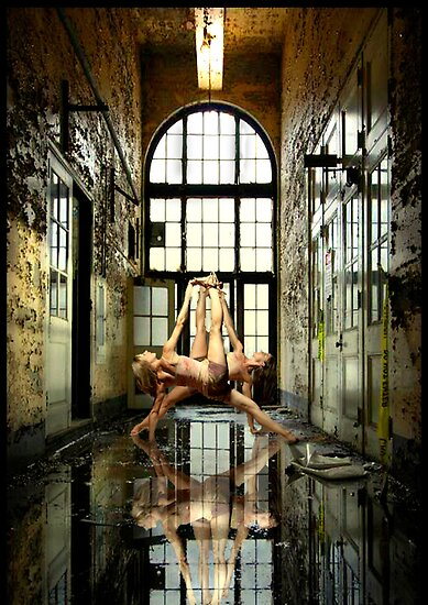 Reflections of Yoga by Andrew (ark photograhy art)
