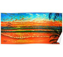 Kailua Beach Sunrise Poster
