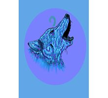 Howling Alpha Photographic Print