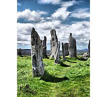 Callanish (Calanais) Standing Stones Photographic Print