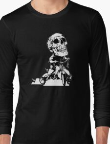 BigHeadSkullKid Long Sleeve T-Shirt
