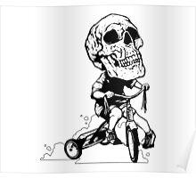 BigHeadSkullKid Poster