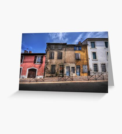Dwellings of Carcassonne Greeting Card