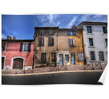 Dwellings of Carcassonne Poster